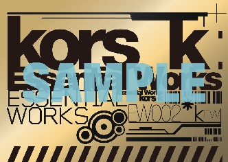 【SAMPLE】kors k EW レアステッカー1_ブログ用