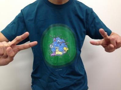 hugmeetTシャツ写真