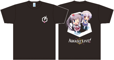 3.AUGUST LIVE! 2016 SDTシャツ