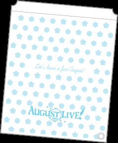 10.購入者特典_AUGUST LIVE! 2016